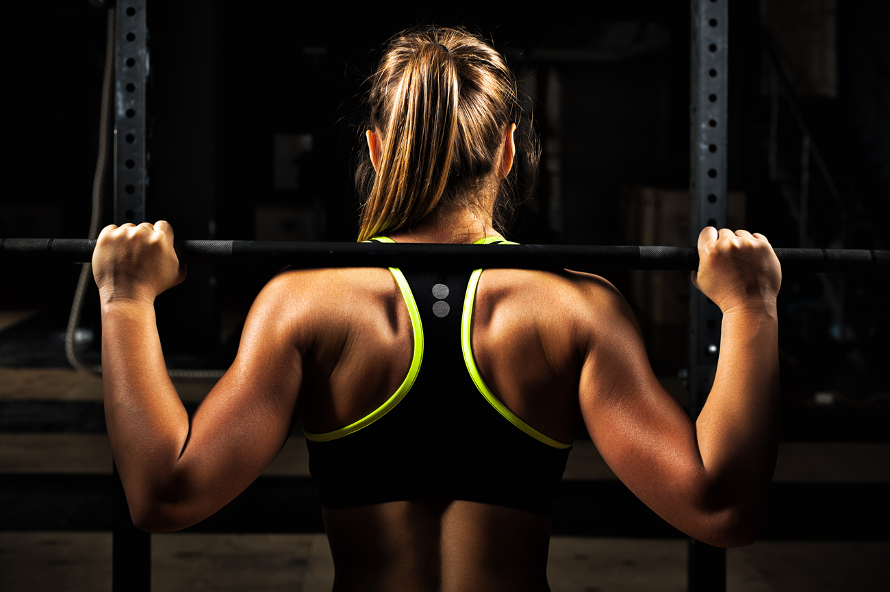 Muskeln definieren mit Langhanteltraining